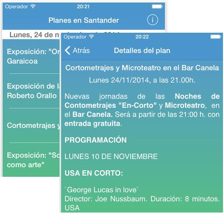 Planes Santander