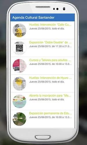 Agenda Cultural Santander
